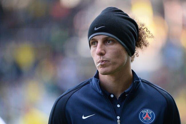 David Luiz sera absent au PSG pendant 4 semaines !