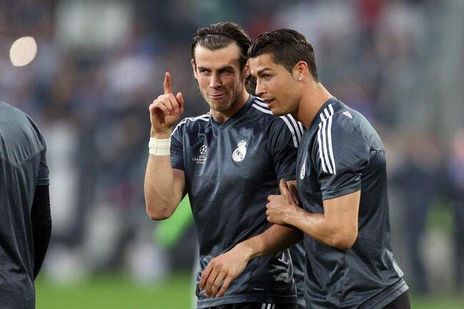 Cristiano Ronaldo un bon vendeur de slip, pas Gareth Bale...