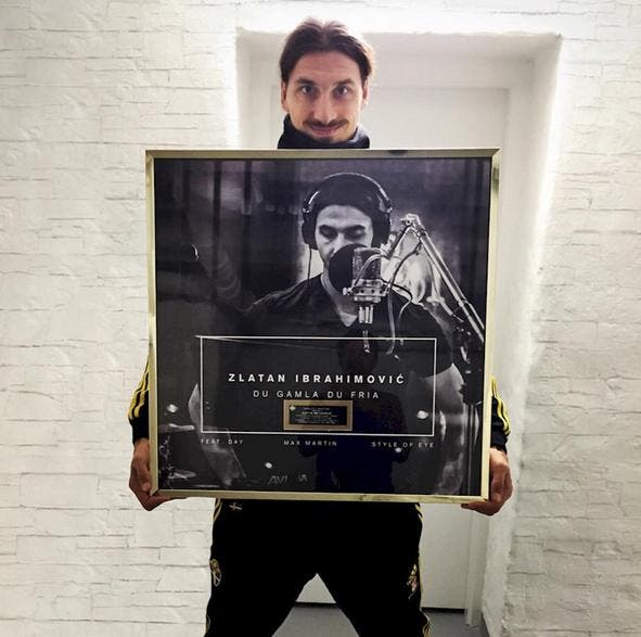 Zlatan Ibrahimovic...un Disque d'Or faute d'un Ballon d'Or