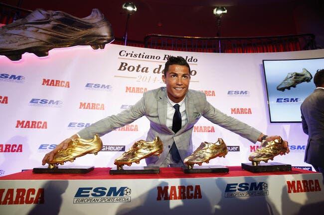 Cristiano Ronaldo veut toujours plus d'or