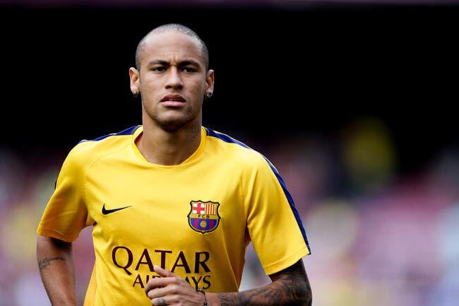 Encore une grosse tuile pour le Barça avec Neymar ?
