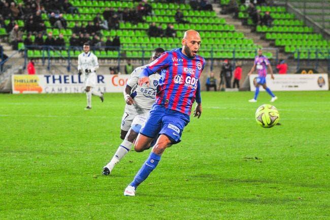 Caen a le vertige sur le podium de Ligue 1
