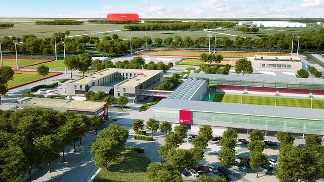 Le futur centre d'entrainement du Bayern fait rêver