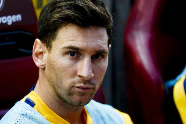 Victime d'un complot, Messi pense à quitter le Barça !
