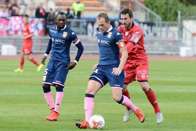 Dijon - Evian TG : 1-3