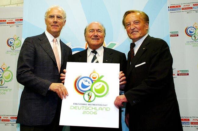 L'Allemagne a-t-elle acheté le Mondial 2006 ? La Fédé dit nein !