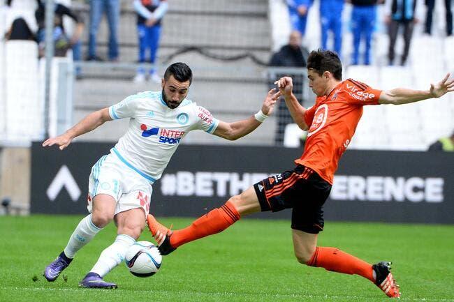 Lorient ne voit pas l'OM rester 16e