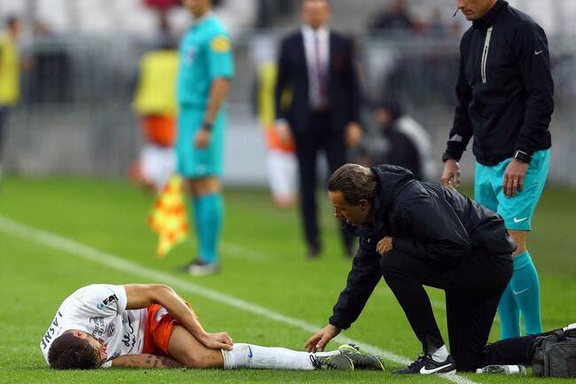 Montpellier perd Lasne pour plusieurs mois