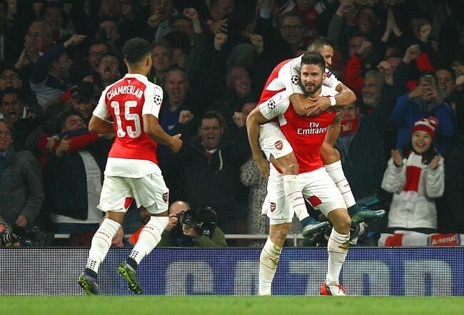 Arsenal - Bayern Munich 2-0