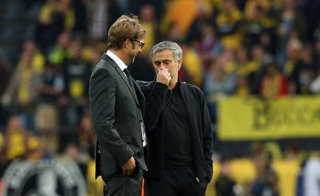 Mourinho et Klopp, le Special One ne rigole pas