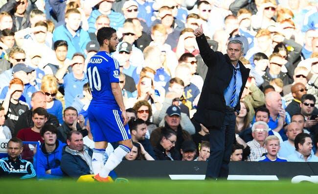 Un clash Mourinho-Hazard, le PSG se frotte les mains !