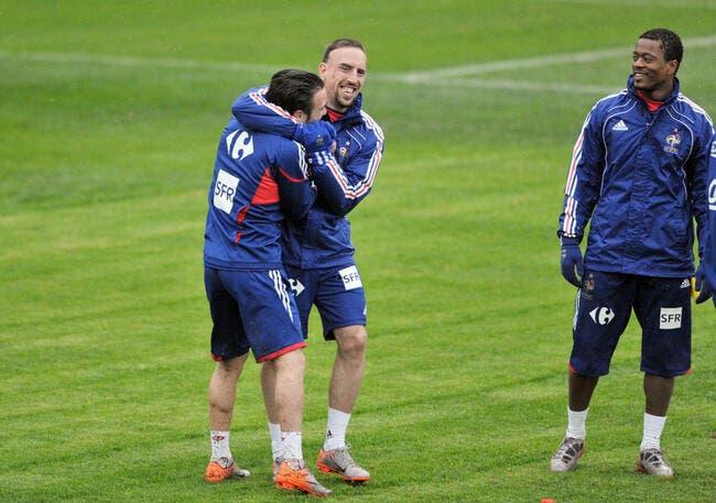 A l'OM, Ribéry faisait la misère à Valbuena !