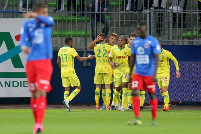 Nantes casse l'ambiance à Caen
