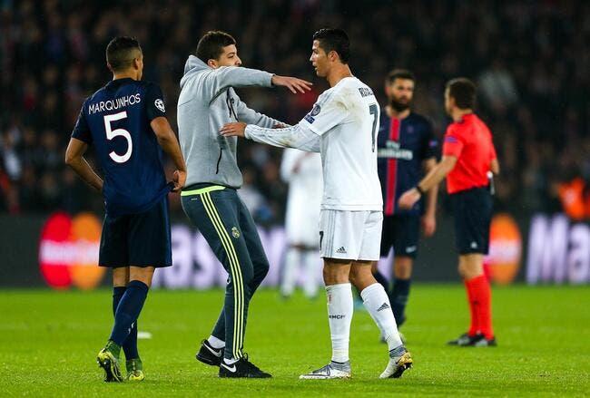 PSG-Real : Le fan de Cristiano Ronaldo risque gros