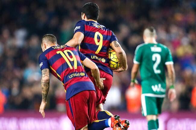 FC Barcelone - Eibar : 3-1
