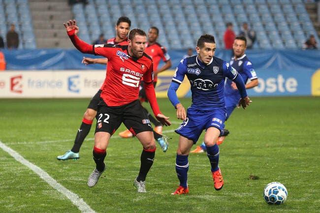 Bastia - Rennes : 0-1