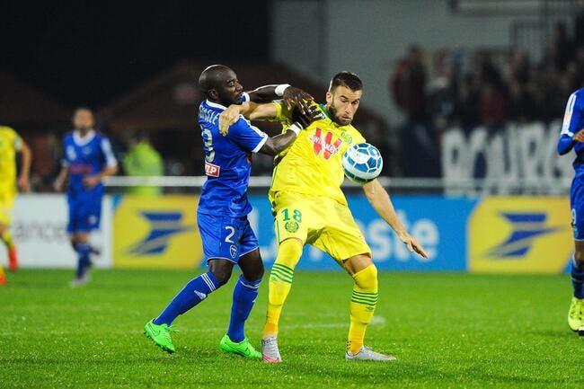 Bourg en Bresse - Nantes : 3-2 (a.p)