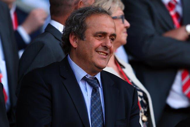 Patron de la FIFA, un poste qui me revient affirme Platini