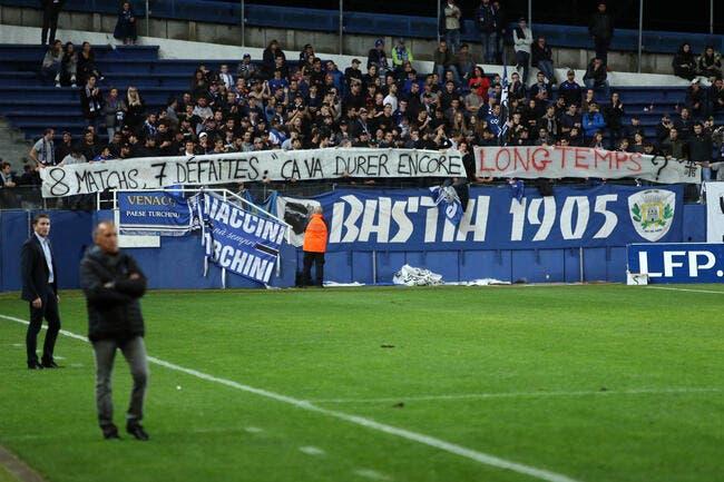 Bastia officiellement en crise selon son coach