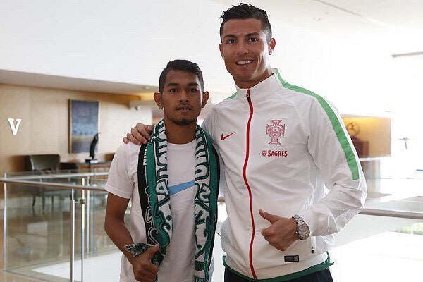 Cristiano Ronaldo a du coeur et l'a toujours prouvé
