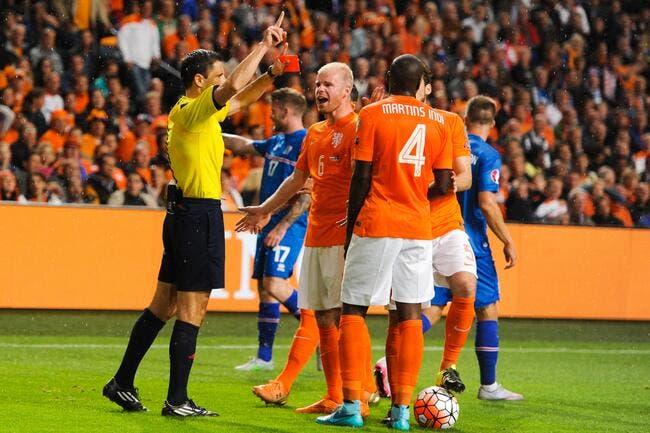 Les Oranje voient rouge, et l'Islande fonce vers l'Euro !