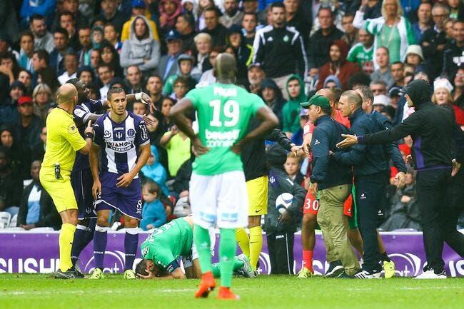 Six matchs de suspension pour Galtier