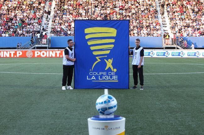Coupe de la Ligue : le tirage complet des seizièmes de finale