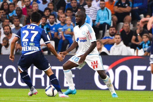 Lassana Diarra joueur du mois d'août à l'OM