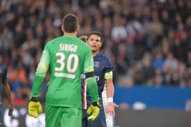 Sirigu, Digne, Thiago Silva ménage les frustrés du PSG
