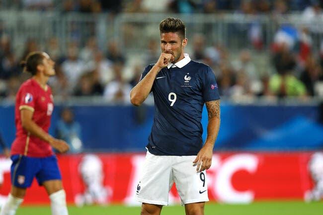 Giroud répond franchement aux accusations et aux sifflets