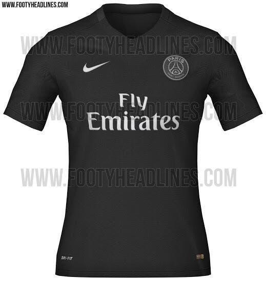 Le 3e maillot All Black du PSG présenté dans 24h !