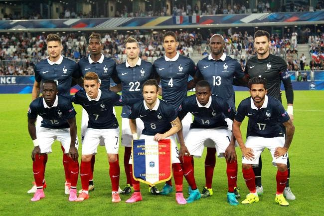 Equipe de france euro2016 l objectif officiel de la - Resultats coupe de france 2015 ...