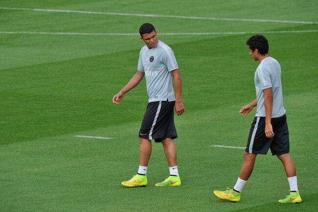 Thiago Silva peut se faire du souci avec Marquinhos