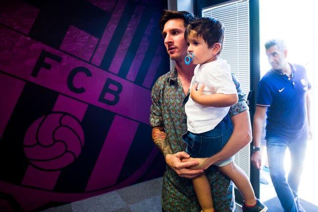 Un deuxième fils pour Messi