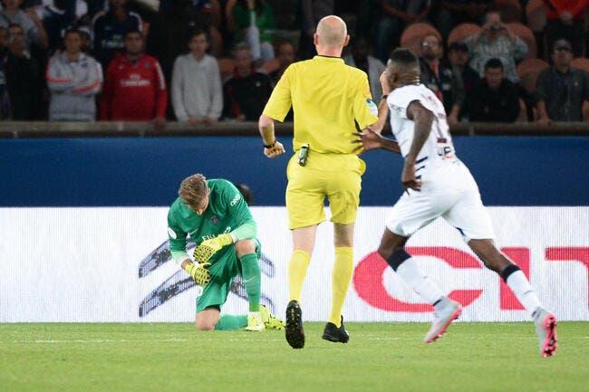 Une bourde de Trapp, et Bordeaux accroche le PSG