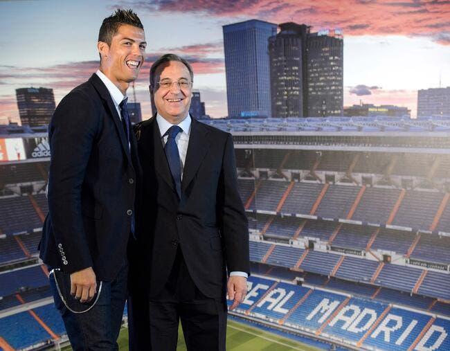 Cristiano Ronaldo se fait câliner au Real Madrid !