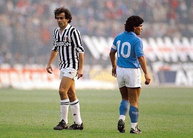 Maradona traite Platini de «menteur» éduqué par Blatter le «voleur»