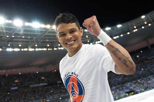 Thiago Silva fait une déclaration d'amour au PSG