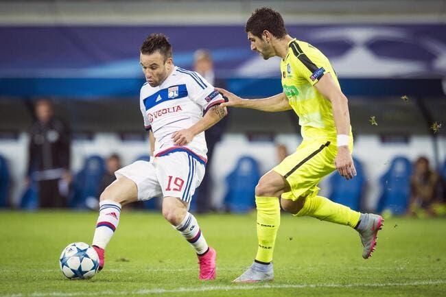 Valbuena est «en colère» après le nul de Lyon