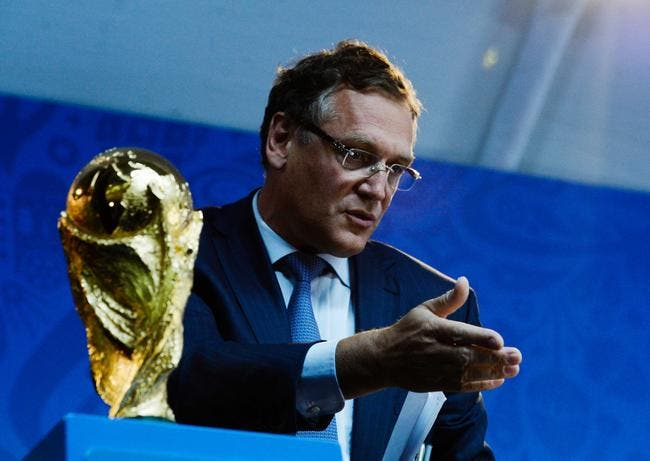 La FIFA met Valcke à la porte