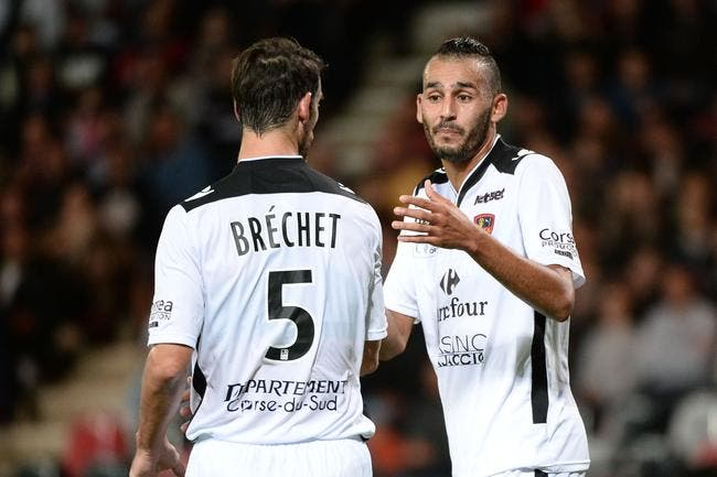 Un point, un but, Ajaccio n'y arrive pas