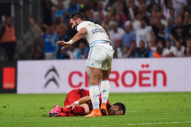 OM-OL, Valbuena n'en sort pas indemne