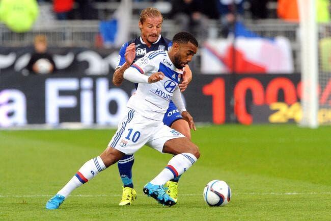 L'OL sans Lacazette contre Bordeaux