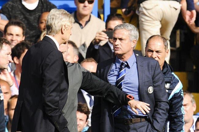 Mourinho se déchaîne, Wenger en prend plein la face !