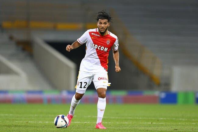 Bahlouli à Monaco, il ne joue pas, mais se blesse