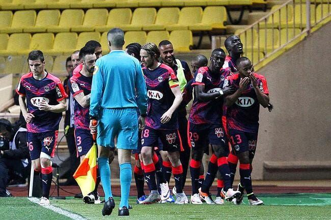 Bordeaux fait le coup parfait, Monaco gâche tout