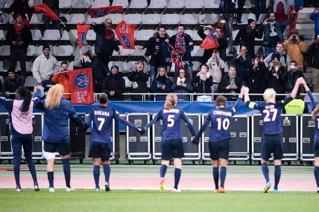 PSG-OL féminin : Le Parc Olympique Lyonnais oui, le Parc des Princes non