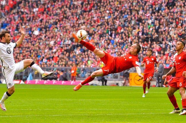 Vidéo : Ribéry réussit le geste parfait avec le Bayern Munich !