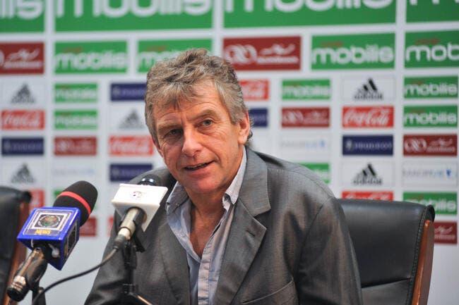 L'Algérie officialise le départ de Christian Gourcuff