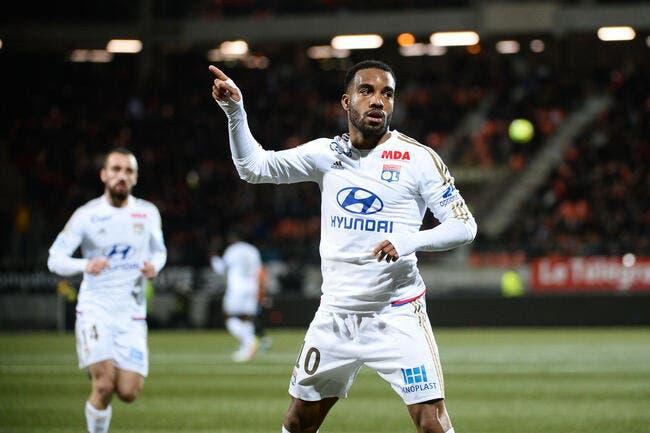 L'OL engrange à Lorient et revient à toute vitesse sur Monaco
